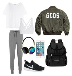 """""""sport on thursday"""" by ludvineabessolo on Polyvore featuring NIKE, Acne Studios, Bodyism, Sherpani and Abercrombie & Fitch"""