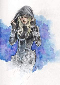 Celaena [The Thief by Tokala]-might I add, amazing watercolor ;)