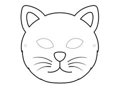 Choose from three cute cat masks to print out and craft into wearable paper masks. All three come in both black-and-white and colored versions. Templates Printable Free, Printable Paper, Free Printables, Printable Animal Masks, Mask Template, Paper Mask, Cat Mask, Cat Birthday, Mask For Kids