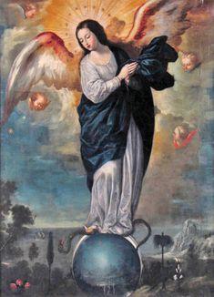 Miguel de Santiago - Nuestra Señora alada del Apocalipsis (Cuzco-siglo XVII)