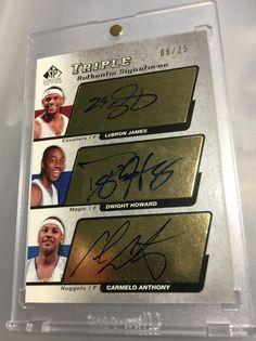 Dwight Howard, Best Player, Lebron James, Michael Jordan, Trading Cards, Baseball Cards, Ebay, Collector Cards