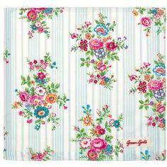 Tablecloth Kristine Pale Blue Greengate