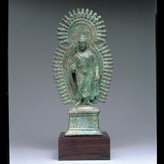 ガンダーラ収蔵品 仏陀立像 4-5世紀 ガンダーラ 青銅 高30.0cm