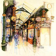 """This part two of the """"Disneyland Paris that never was"""" articles series is all about Main Street U.S.A. It's not very known, but at Disneyl..."""