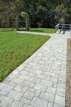 Slate Stone | Antique Gray Standard Finish Paver Walkway