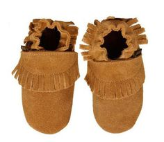 While baby shoes might not really be a necessity until your little one is walking, they're awfully cute on tiny feet. My favorite brand is a Dutch company called Boumy (most shoes are $32). They use the softest leather, and the styles are just the right balance of cutesy and sophisticated.  — Lisa Horten, contributing editor