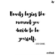 Coco was so wise! #cocochanel #quote #inspo