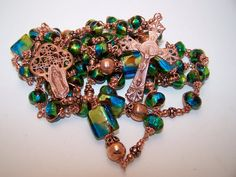 Unbreakable Rosary COPPER COLLECTION Rosary Of Our by robertd5198, $265.00