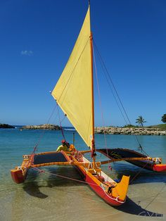 Outrigger Sailing Canoe - Hawaiian Ocean Adventures   Flickr - Photo Sharing!