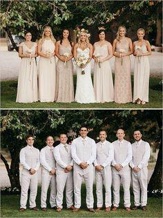 neutral bridesmaid dresses 15 best outfits - bridesmaid dresses