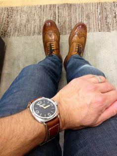 #Watch + #Jeans + #Shoes = #Trendy