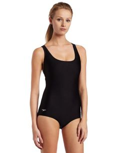 Speedo Womens Conservative Ultraback Swimsuit ** Read more reviews of the product by visiting the link on the image. (This is an affiliate link) #LadiesSwimmingSuits