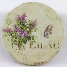 the lilac cottage ✿⊱╮X ღɱɧღ || scatola-in-latta-decoupage-lavanda-contenitore-lillac.jpg 600×600 pixels