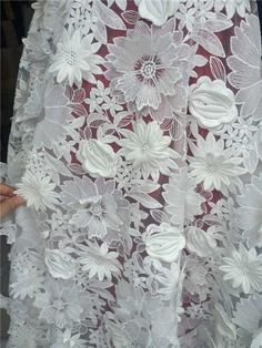 Hot African nigerian guipure swiss voile lace,high quality water soluble print lace Fabric and Eugen embroidered  fabric-in Fabric from Home & Garden on Aliexpress.com | Alibaba Group