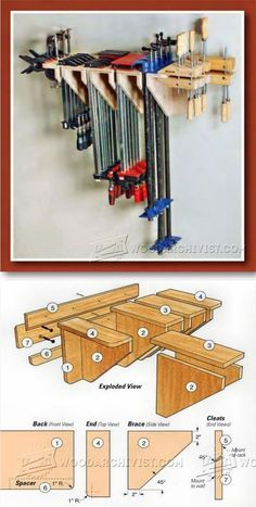 Build Clamp Rack - Workshop Solutions Projects, Tips and Tricks  WoodArchivist.com