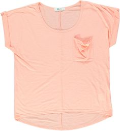 Kelso Slouchy Tee - In a lovely corral pastel and comfortable! Summer Time, Spring Summer, Summer Madness, Pastel Fashion, Slouchy Tee, Lazy Days, Summer Looks, Pastels, Monochrome