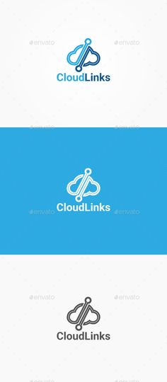 Cloud Links — Vector EPS #services #link • Available here → https://graphicriver.net/item/cloud-links/10400060?ref=pxcr