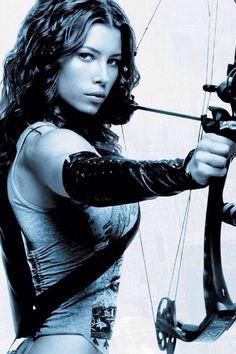 Jessica Biel: Blade III #JessicaBiel   #Blade