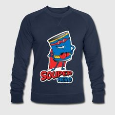 a super hero can of soup is a souped hero