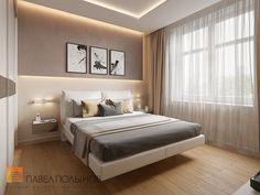 Фото: Интерьер спальни - Интерьер дома в современном стиле, коттеджный поселок «Небо», 272 кв.м.