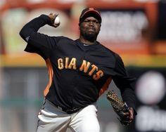 San Francisco Giants starter Guillermo Mota (Spring Training, 2012)