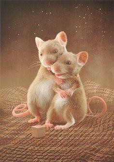 My new Postcard @DaWanda, #animals #illustration