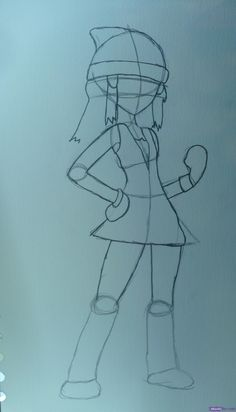 how to draw girl pokemon - Google Search