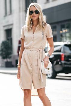 Fashion Jackson, Dallas Blogger, Fashion Blogger, Street Style, Rachel Parcell Everyday Shirtdress, Aquazzura Sexy Thang Heels, Celine Trotteur White Crossbody