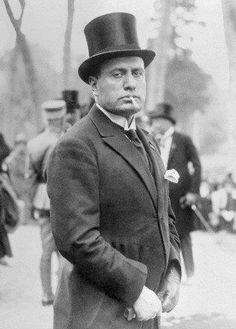 Benito Amilcare Andrea Mussolini, 1883-1945, Duce of Italy ...