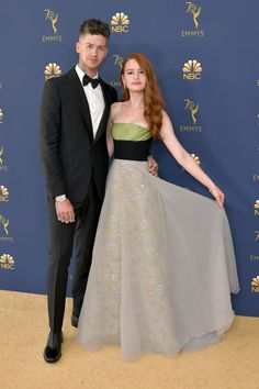 The Cutest Celebrity Couples at the 2018 Emmy Awards - Beautiful celebrities Celebrity Couple Costumes, Famous Celebrity Couples, Celebrity Memes, Celebrity Weddings, Celebrity Photos, Celebrity Style, Celebrity Outfits, Jessica Biel, Memes Celebridades