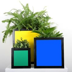 Hicks Planter, Small, Blue