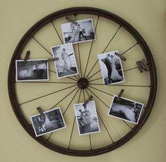 L'atelier du mercredi : avec des roues de vélo