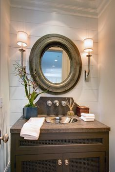 Powder Room Design, Pictures, Remodel, Decor and Ideas - page 2
