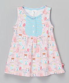 Loving this Zutano Blush Wide Awake Darling Dress - Infant on #zulily! #zulilyfinds