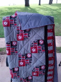 Alabama Crib Quilt in Multi by NeNesQuilts on Etsy