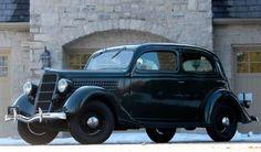2,600 Original Miles: 1935 Ford Tudor V8 // Wow.