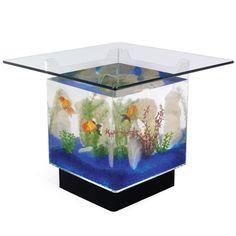 15 gallon aquarium end table.