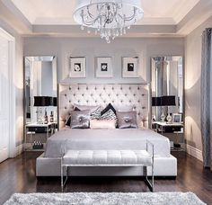 love a classy bedroom