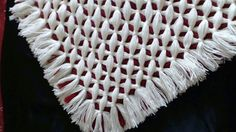How I do a reversible double sided criss cross blanket on my pom pom loom. AMENDMENTS 1. You can use less wool to make this blanket lighter. 2. When you tie ...