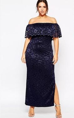 Full-figured modern ladies also could be sexy with sexy plus size dresses online selling. Plus Shelf Bandeau Maxi Dress in Lace is one included, soft, mid-weight lace with fully lined, stretch off-sho Evening Dresses Plus Size, Plus Size Maxi Dresses, Wrap Dresses, Dresses 2016, Sleeve Dresses, Sexy Dresses, Glamour, Costume, Sammy Dress