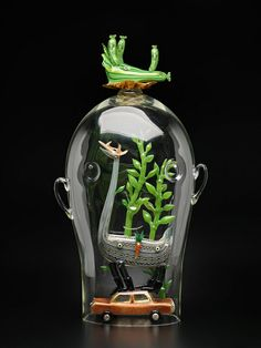 Tom Moore Glass Sculpture wow