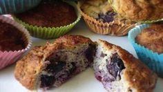 Diese Blaubeermuffins halten was sie versprechen: saftig, fruchtig, süß. Dieses Rezept eignet sich für jeden! ✓Weizenfrei ✓Zuckerfrei ✓Laktosefrei.