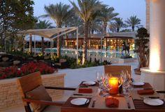 Mr & Mrs Smith - Lounge Terrace at second Dubai stopover