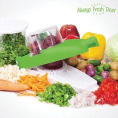 Picador de Legumes Always Fresh Dicer - onjango