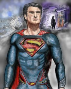 Kal-el Recent painting in Corel Painter 12 and Photoshop