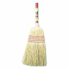 UNISAN Maid Broom, Mixed Fiber Bristles, 42 Inch Wood Handle, Natural (920Y) by Unisan. $8.69. For light-duty sweeping. Five rows of stitching.Lacquered wood handle.