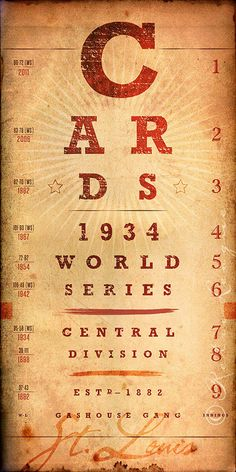 St. Louis Cardinals Birthday Gift DoublePlay Art by RetroLeague