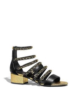 Discover the latest collection of CHANEL Shoes. Explore the full range of Fashion Shoes and find your favorite pieces on the CHANEL website. Black Sandals, Shoes Sandals, Heels, High Jewelry, Jewelry Shop, Paris New York, Chanel News, Coco Chanel, Rockstud Pumps