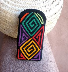 Gorgeous Geo Mola Applique Eyeglass/Cell Phone Case by molamama, $16.00