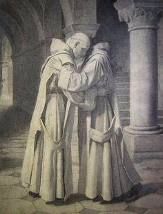 Alle,  die meinen Willen tun... Catholic Art, Roman Catholic, Old Monk, Linear Art, Religion, Catechism, Sacred Art, Michel, Art History